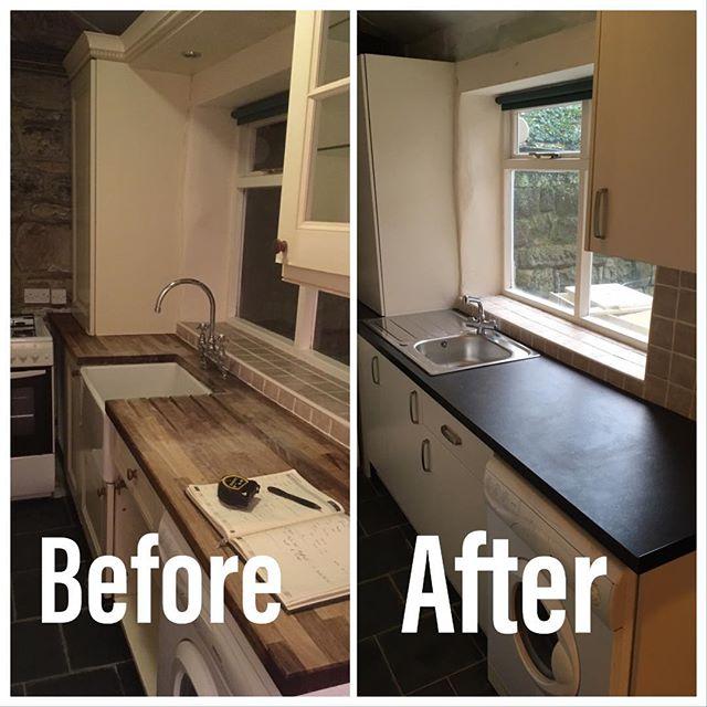Galley kitchen freshen up, #morethanjustplumbing&heating